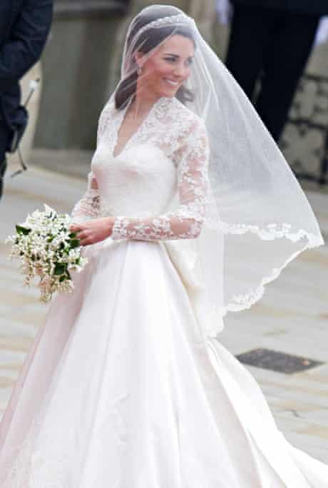 The Duchess of Cambrigde's wedding dress