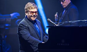 Elton John In Concert At L'Olympia