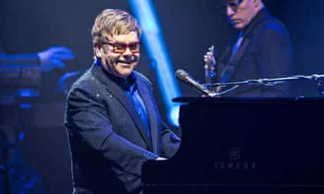 Elton John In Concert At L'Olympia