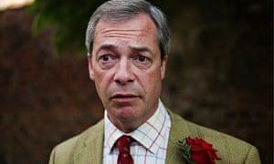 Nigel Farage, leader of Ukip