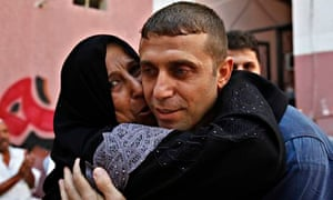 Released Palestinian prisoner Nehad Jondiya