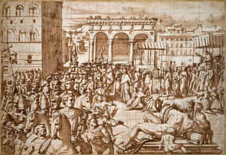 The Procession of Pope Leo X
