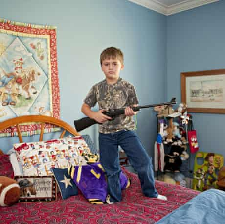 Tatum, aged 6, from Louisiana. My Little Rifle by An-Sofie Kesteleyn.