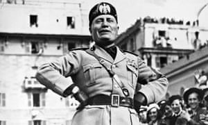 Mussolini, May 1938