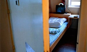 Cell at a women's prison in Sweden