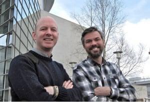 Matt Palmer and Doug McNeall