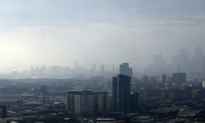 London blanketed in smog earlier this week.