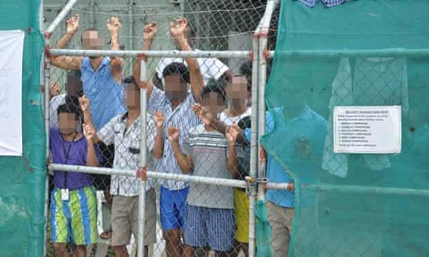 Asylum seekers Manus Island