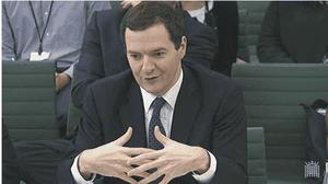 George Osborne at Treasury Select committee, April 3 2014
