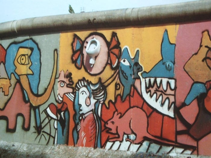 Graffiti in the death strip: the Berlin wall\'s first street artist ...