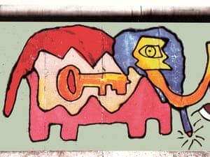 Elephant, by Thierry Noir
