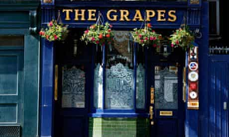 The Grapes pub in Limehouse
