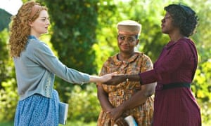 Stone (left) in The Help