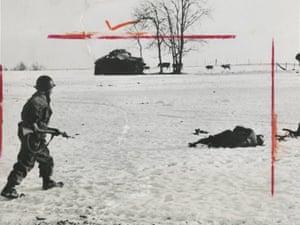 """Man in The Snow, Bastogne, Belgium"", 23 - 26 December, 1944."