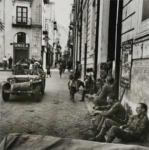 """""""Conquered Town, Cefalu, Sicily"""", July 26, 1943."""