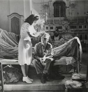 """Surgery Replaces Religion, Maiori, Italy"", September 19, 1943."