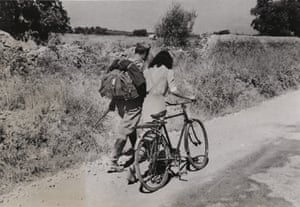 """""""Lovers' Parting near Nicosia, Sicily"""", July 28, 1943."""