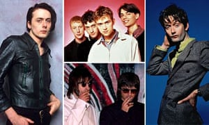 Britpop: Brett Anderson, Blur, Jarvis Cocker and Oasis