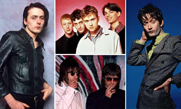Brett Anderson, Blur, Jarvis Cocker and Oasis … the enduring power of Britpop.