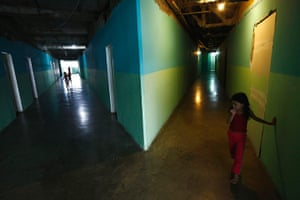 Tower of David: Children play in the corridors