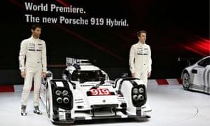 Mark Webber and Timo Bernhard