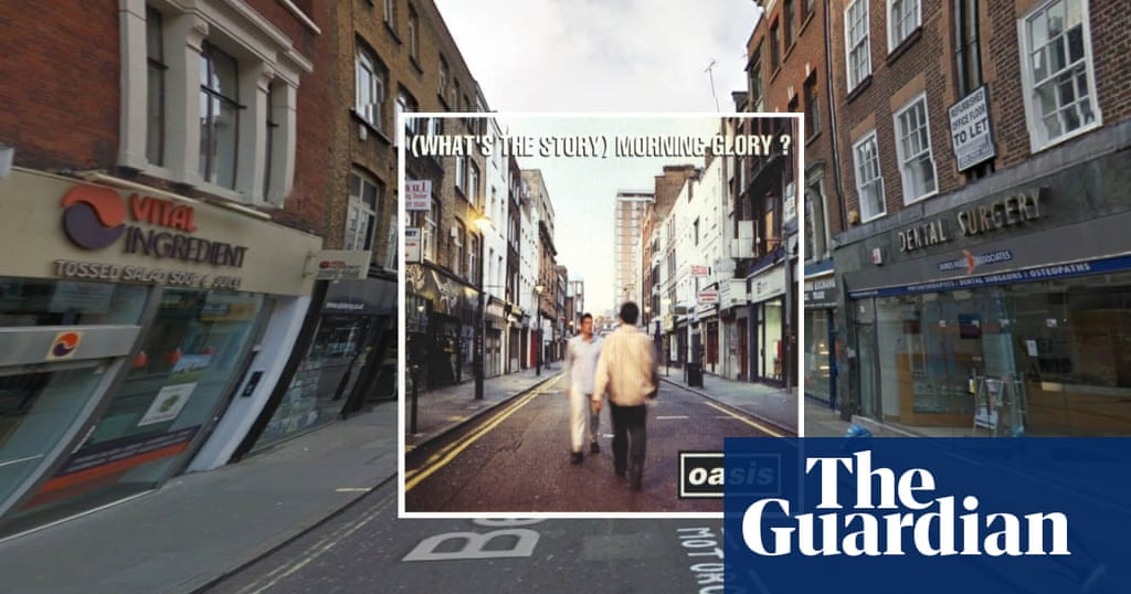 Classic Album Covers In Google Street View In Pictures Cities The Guardian