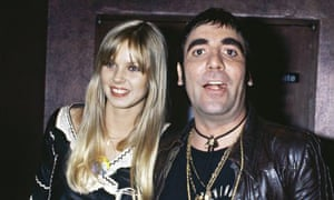Keith Moon with his girlfriend Annette Walter-Lax.