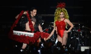 Lady Gaga Roseland keytar