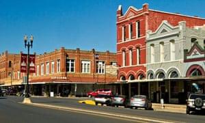 Lockhart, Texas main street.