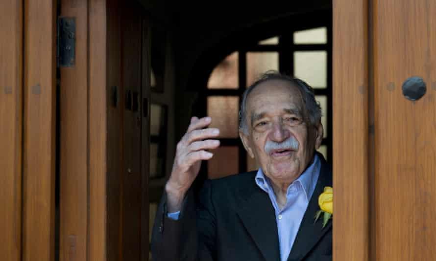 Gabriel García Márquez on his birthday in Mexico City.