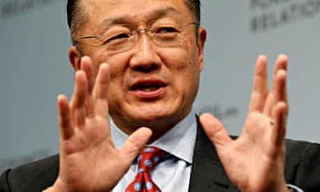 World Bank President Jim Yong Kim speaks