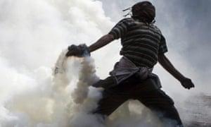 Egypt protestor