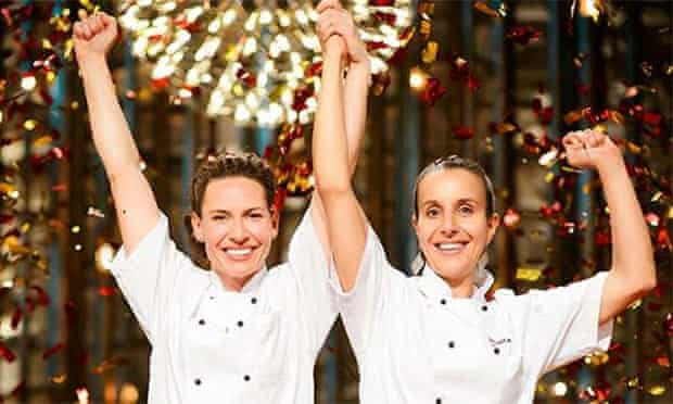 My Kitchen Rules winners Bree and Jessica