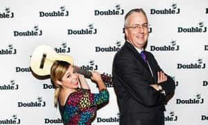 Myf Warhurst and Mark Scott launch Double J