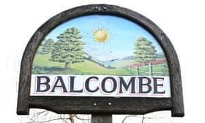 Balcombe village sign
