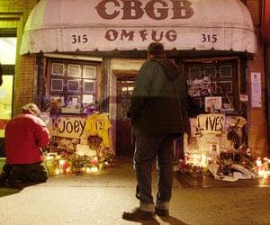 The Ramones: Shrine to Joey Ramone in East Village