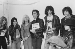 The Ramones: Punk Rockers Performing Mock Wedding