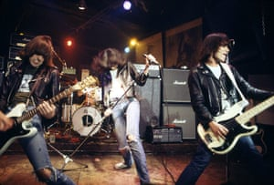 The Ramones: Playing at CBGB's