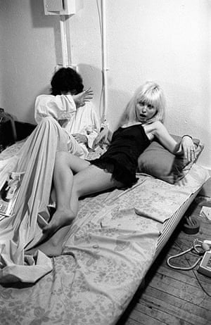 The Ramones: Joey Ramone And Debbie Harry