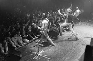 The Ramones: at the Agora Ballroom in Atlanta