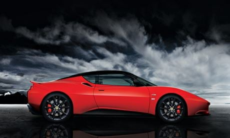 Lotus Evora Car Review Martin Love Technology The Guardian