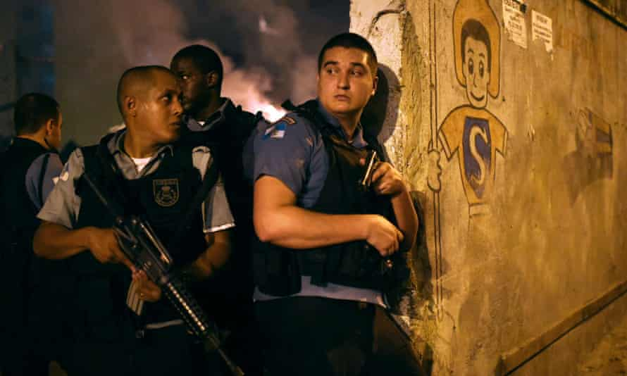 Violent protests broke out in a favela near Copacabana this month after a resident was killed in clashes with the army.