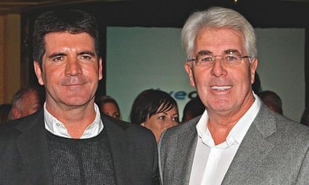 Max Clifford with Simon Cowell