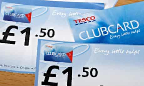 tesco clubcard and clubcard vouchers