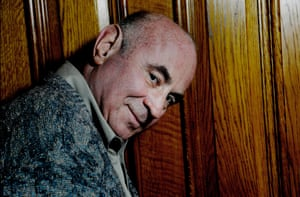 Bob Hoskins, photographed in London, 2007