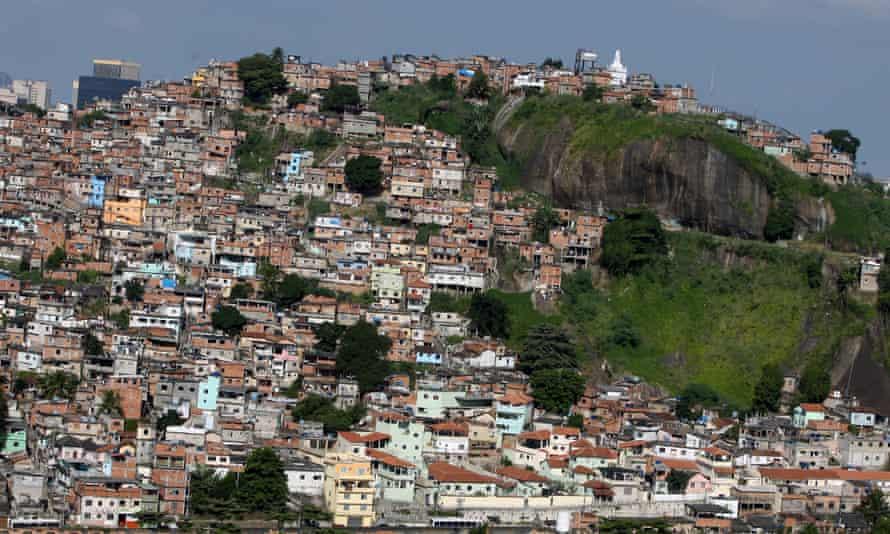 The Morro da Providencia favela.