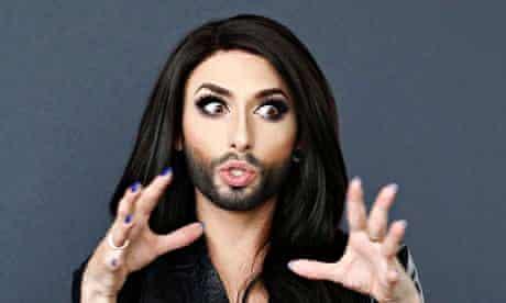 Austrian drag queen Conchita Wurst