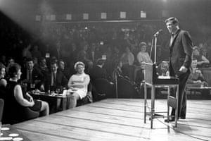 memory lane: Fred Trueman Cabaret Act
