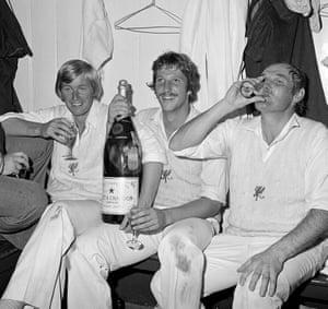 memory lane: Somerset players celebrate