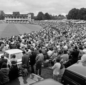 memory lane: Crowd at Gillette Cup Quarter-Final  Kent v Leicestershire